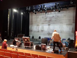 Technical Equipment Installing ready for showtime!