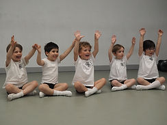 All Boys Dance class