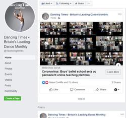 online ballet classes for a boy