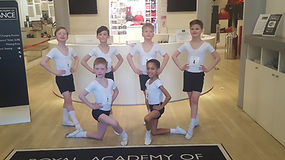 Royal Academy Dance Boys Masterclass