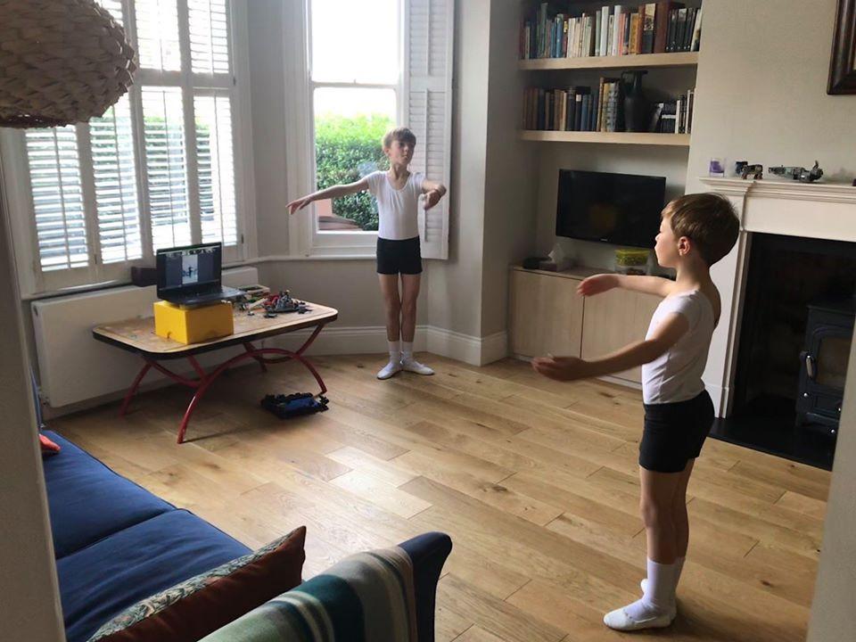 Boys Dance class remote