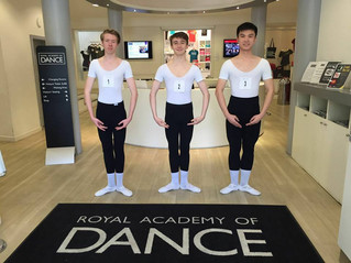 Exam Day at the Royal Academy of Dance HQ