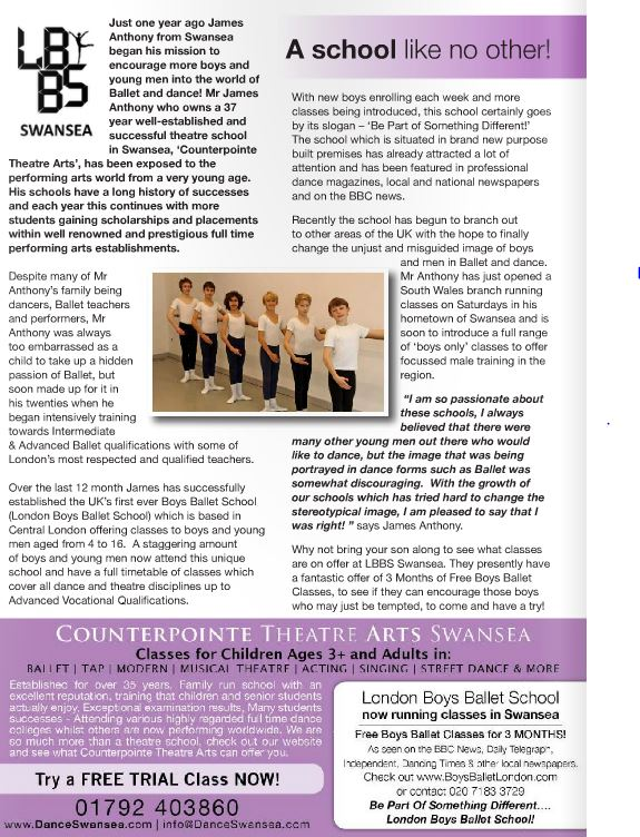 swansea Kidscene Article