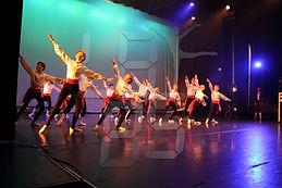 Boys in a Ballet Class