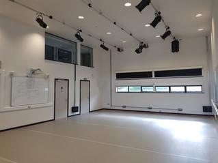 Top of the range Harlequin dance floor installed at LBBS studios!
