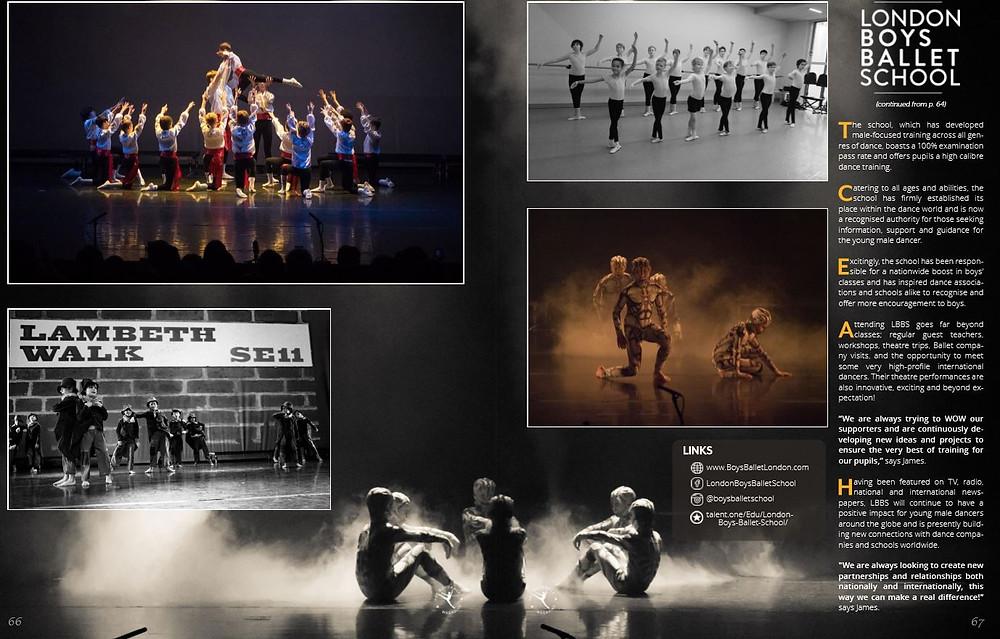 boys ballet london classes