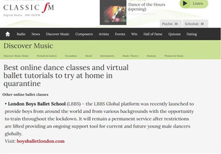 Thank you Classic FM!