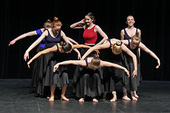 contemporary style dance company swansea