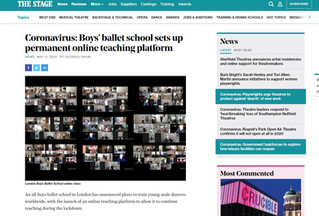 We are in 'The Stage' - News is spreading about LBBS Global.