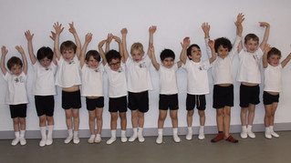 Lets hear it for some of our Pre-Primary boys Ballet class! Who said Ballet isn't fun!