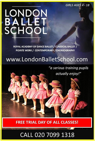 All levels of Ballet to be offered at LBS Finsbury Park!