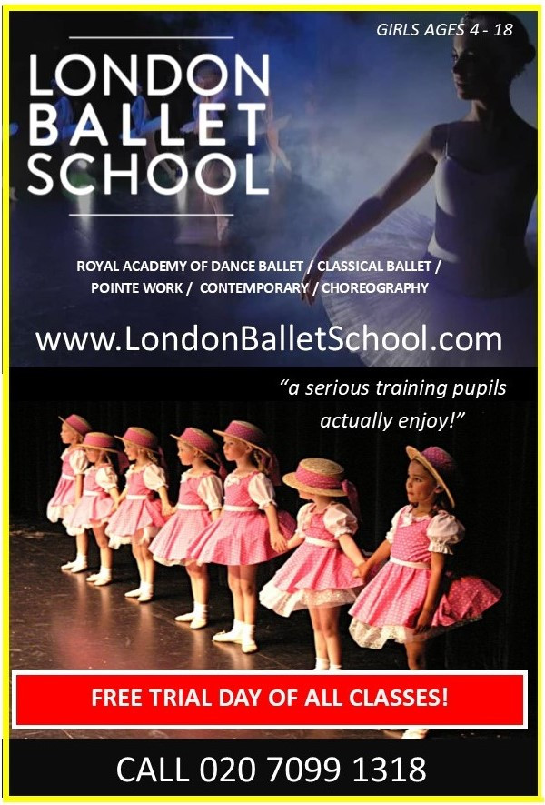 ballet classes in london