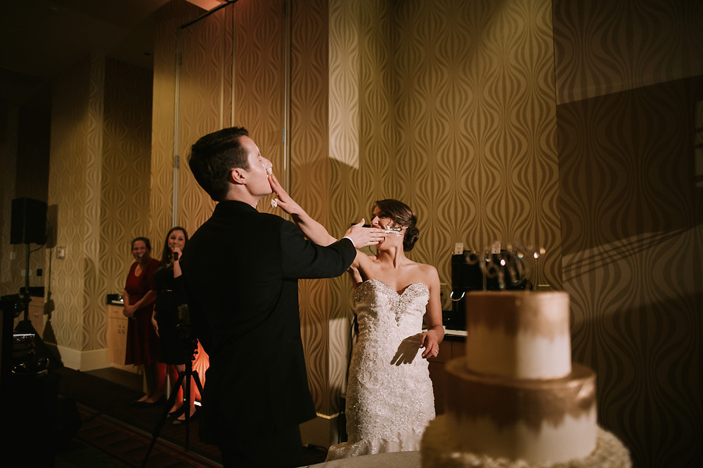 Logan and Keely Wedding| Embassy Suites at Brier Creek| Urban Bloom Photography 68