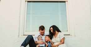 """Family Love""  Greensboro Family Session  Urban Bloom Photography  Revolution Mill  Greensboro, NC"