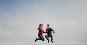 """I Love You Always Forever""| Pilot Mountain Engagement Session| Winston-Salem Photographers"