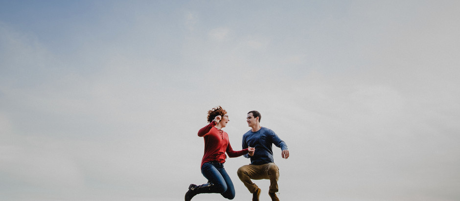 """I Love You Always Forever""  Pilot Mountain Engagement Session  Winston-Salem Photographers"