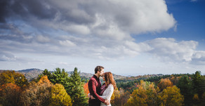 Nathan and Ashley Engagement Session| Cone Manor| Blowing Rock, NC