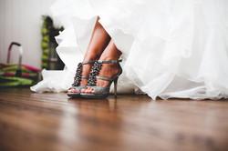 Bride Shoes Details Photo