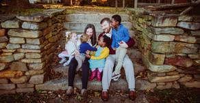 """What a Wonderful World""  An Old Salem Family Session  Winston-Salem, NC"