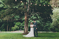Rustic Bride and Groom Photo