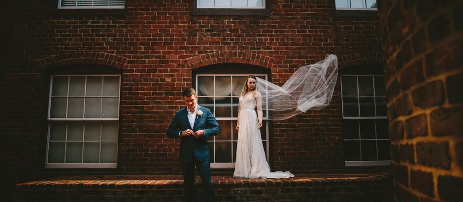 Ben and Margarita Wedding| The Brookstown Inn| Winston-Salem, North Carolina