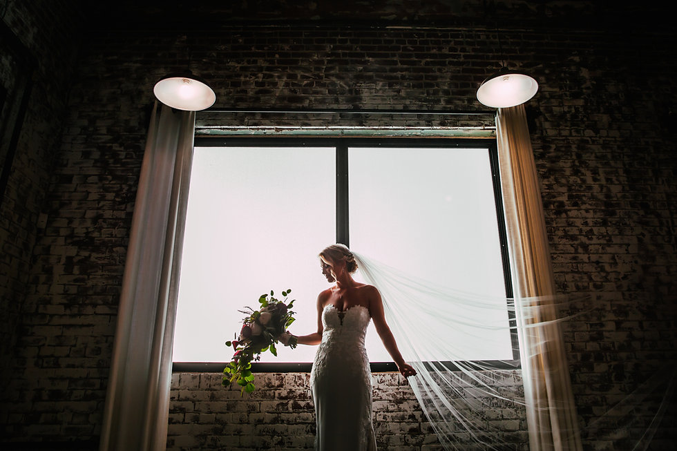 Greensboro Bridal Portrait