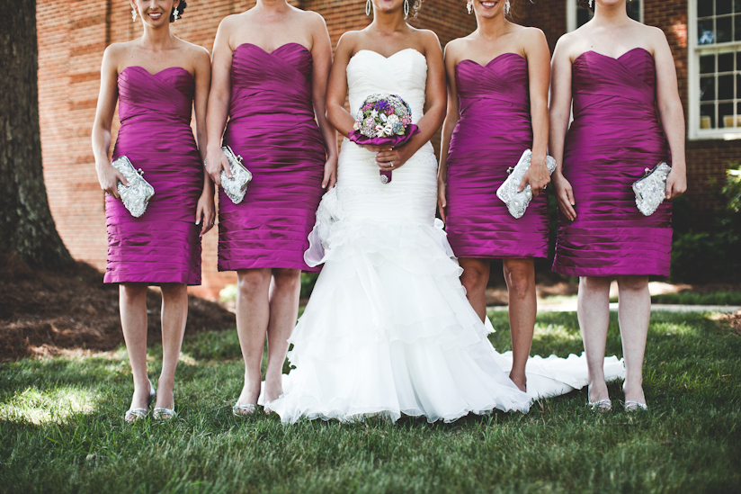 Bride and Bridesmaids Details Photo