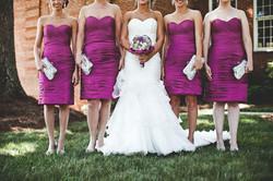 Bride and Bridesmaids Details Photo
