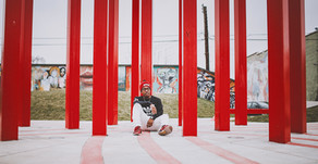 Corey| Urban Bloom Lifestyle Session| Downtown, Winston-Salem| Art Park| North Carolina Photographer