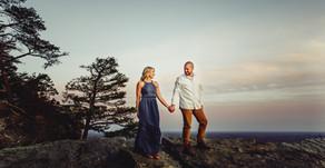 Nick and Twinkle| Anniversary Session| Winston-Salem Portrait Photographers| Pilot Mountain, NC