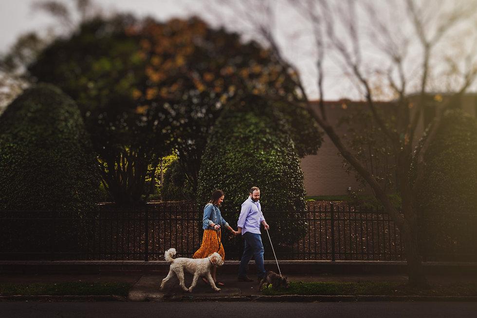 Engagement Photographers in Winston-Salem
