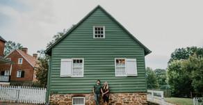 Ross and Hayley Engagement| Old Salem|  Winston-Salem, NC