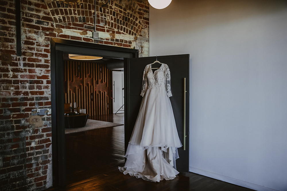 The Lofts at Congdon Wedding Dress 1