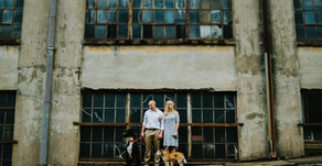 Justin and Lacey Engagement Session| Urban Bloom Photography| Downtown Winston-Salem| Winston-Salem,