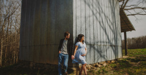 Jesse and Sheila Maternity Session  Winston-Salem Maternity Photographers  Hamptonville, NC