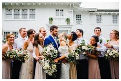 Austin T Finch House Bridal Party