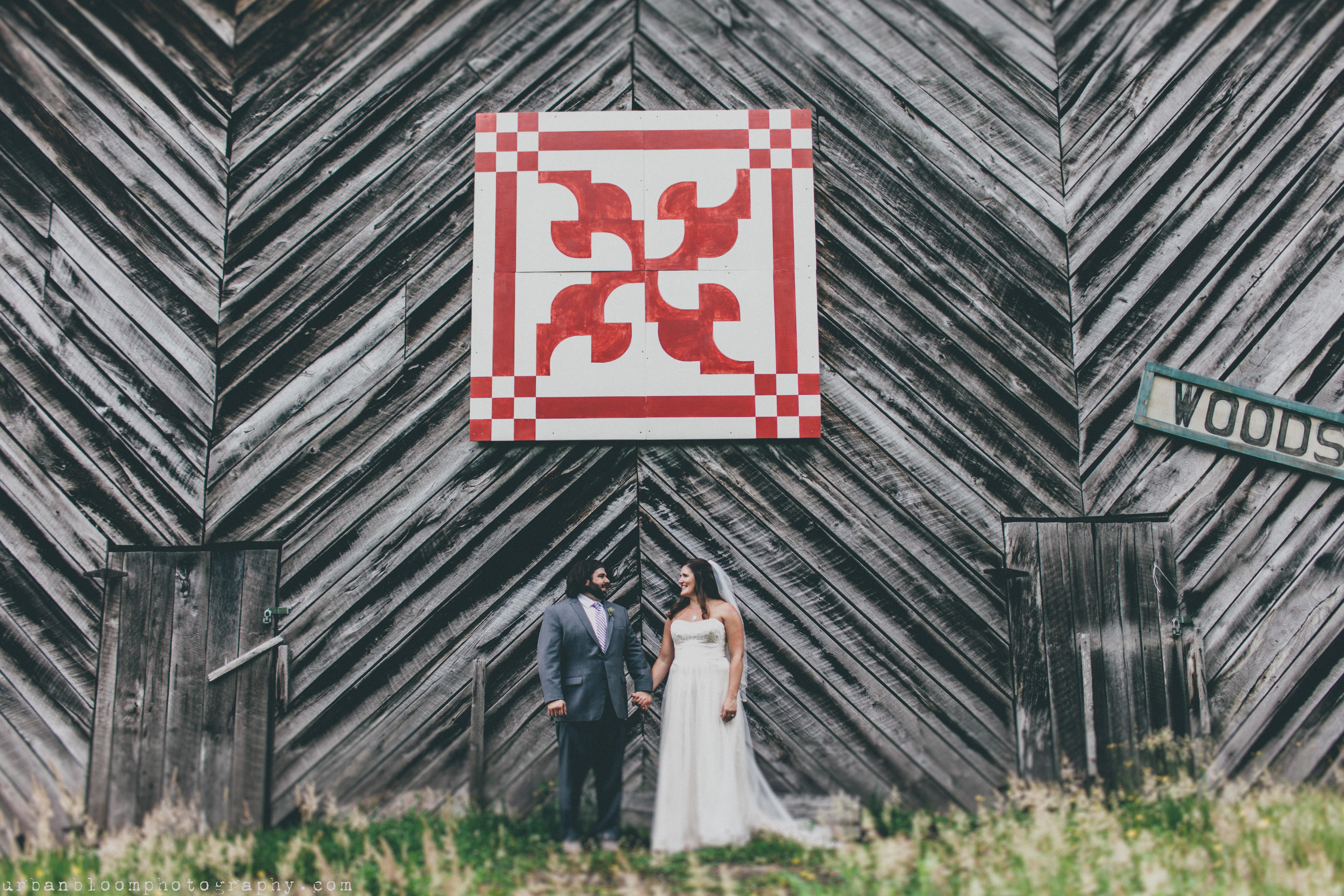 Rustic North Carolina Wedding