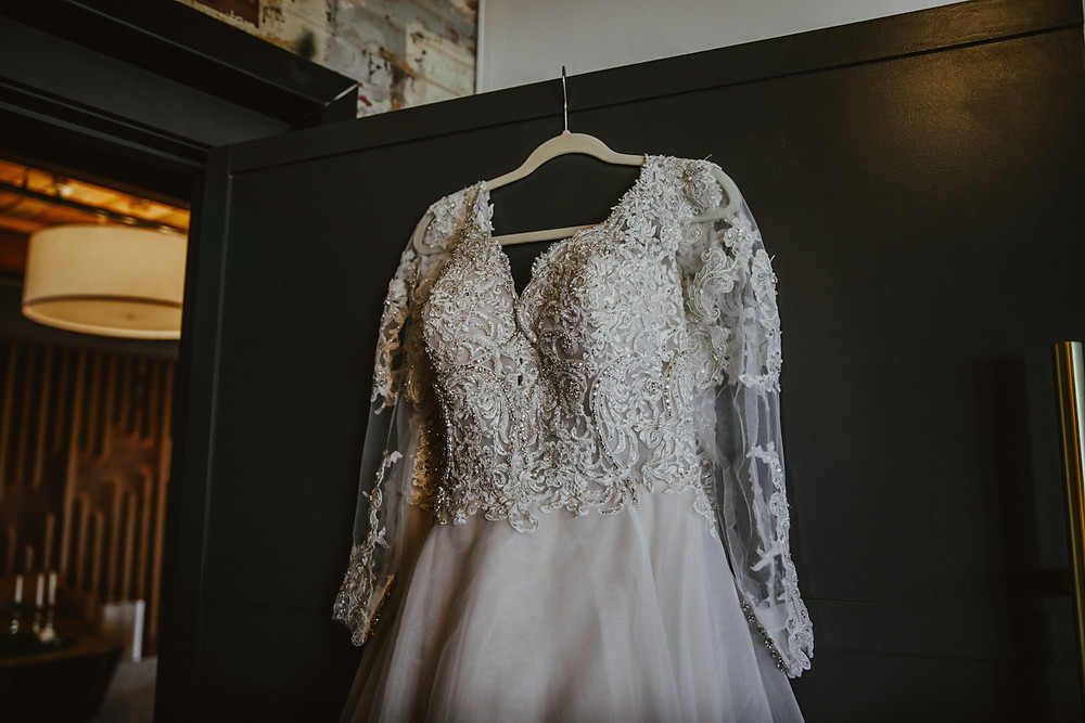 The Lofts at Congdon Wedding Dress 2