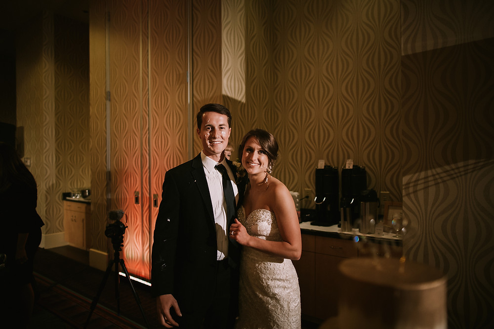 Logan and Keely Wedding| Embassy Suites at Brier Creek| Urban Bloom Photography 70