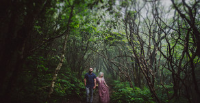 Nick and Eden Engagement| Craggy Gardens| Asheville, NC