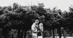 Jarrett and Ashley Engagement Session| Tanglewood Park| Clemmons, North Carolina