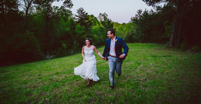 Brandon and Carly| The Meadows at Walnut Cove| Walnut Cove, NC