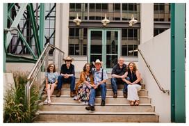 Downtown Winston Salem  Family Session