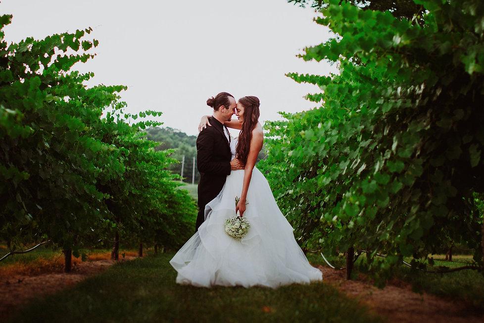 North Carolina Bride and Groom