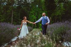 Lavendar Oaks Bride and Groom