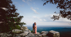 """""""My Wish for You""""  Urban Bloom Maternity Session on Pilot Mountain"""