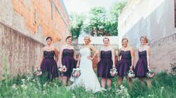 Bridesmaids at The Liberty in Elkin