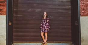 Anna Kathryn| Urban Bloom Photography| Senior Session in Downtown, Winston-Salem