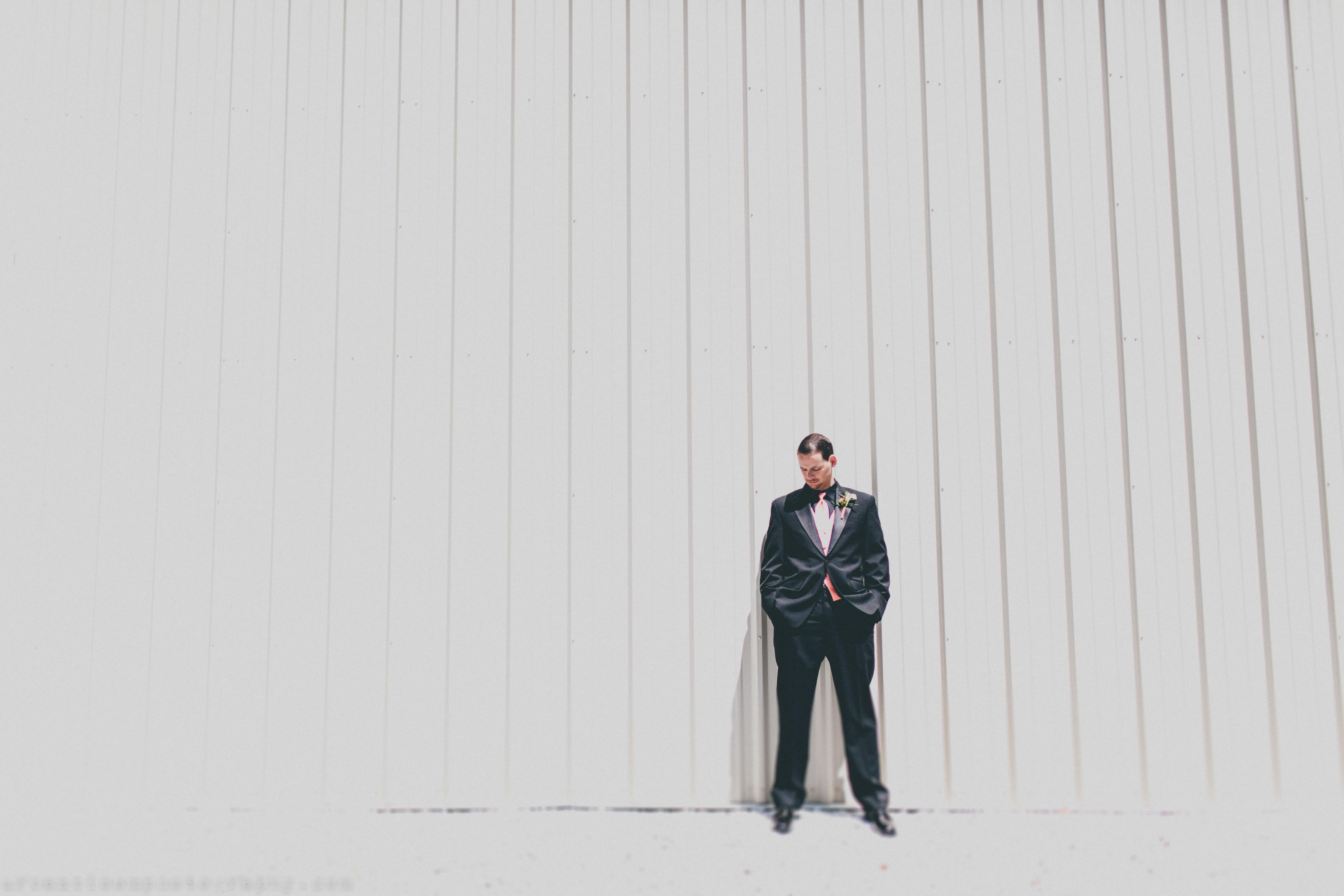 Modern Groom Portrait