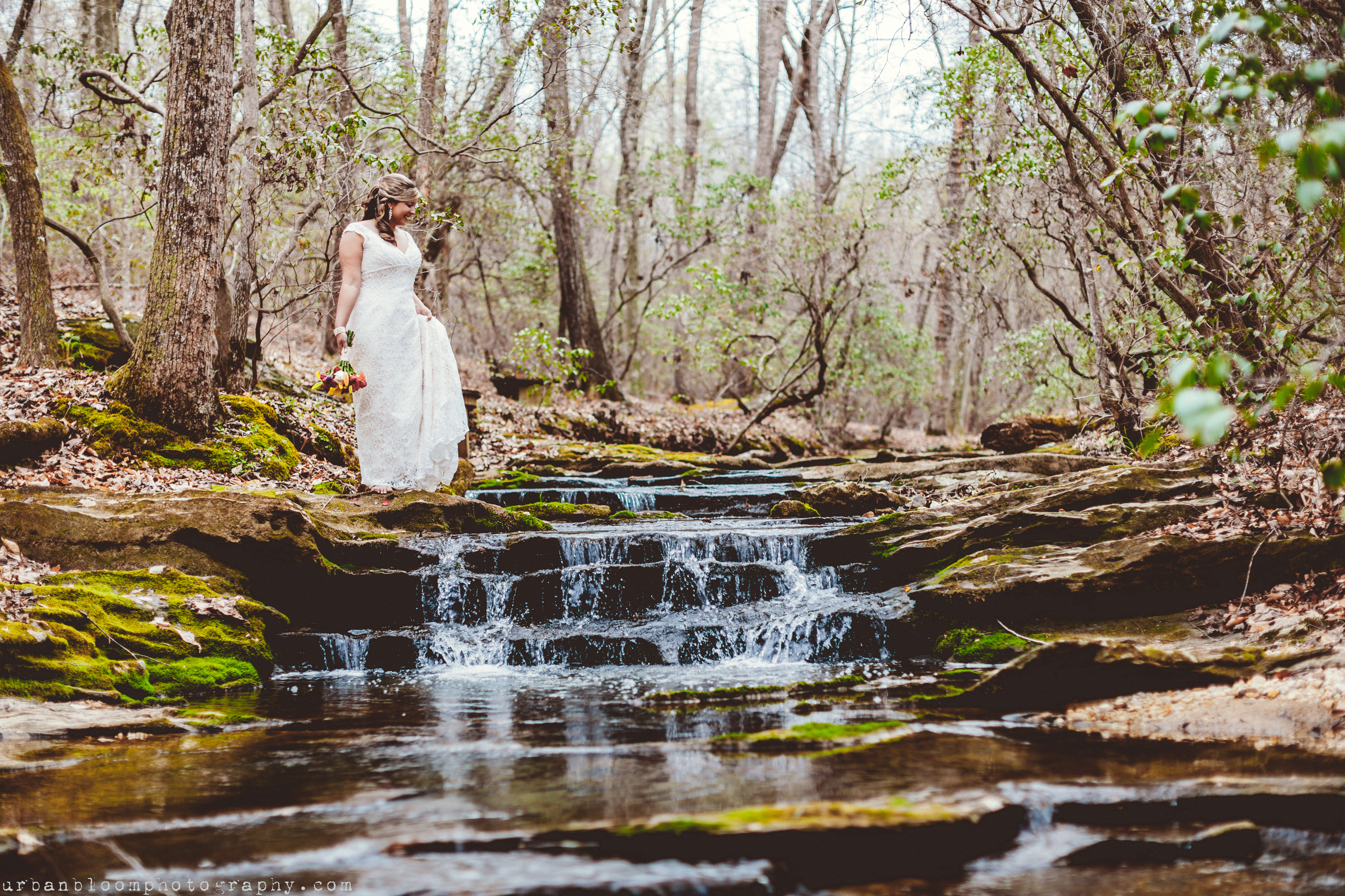 Bridal Session in a Natural Setting
